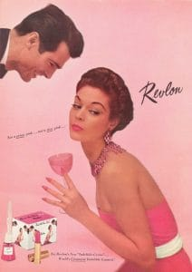 Vintage Ad of the Week 12/12/12: Revlon Cosmetics, Vintage Makeup Ad