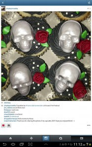 Viscera Film Festival | The Homicidal Homemaker Cupcakes