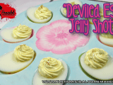 Deviled Egg Jelly Shots  | The Homicidal Homemaker