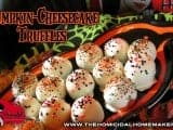 Pumpkin-Cheesecake Truffles  | The Homicidal Homemaker