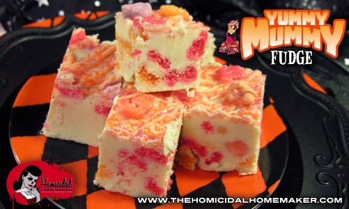 Yummy Mummy Fudge | The Homicidal Homemaker