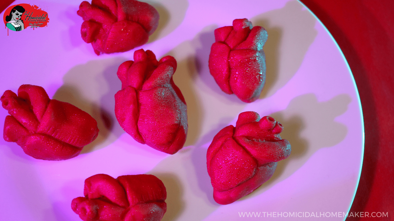Anatomical Heart Dipped Strawberries The Homicidal Homemaker