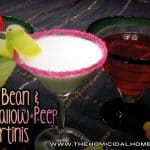 Jelly Bean Martini & Marshmallow Peep Martini | The Homicidal Homemaker