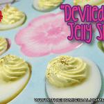 Deviled Egg Jelly Shots | The Homicidal Homemaker