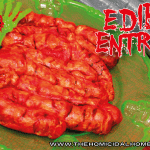 Edible Entrails – A Morbid Twist on Pigs in a Blanket!