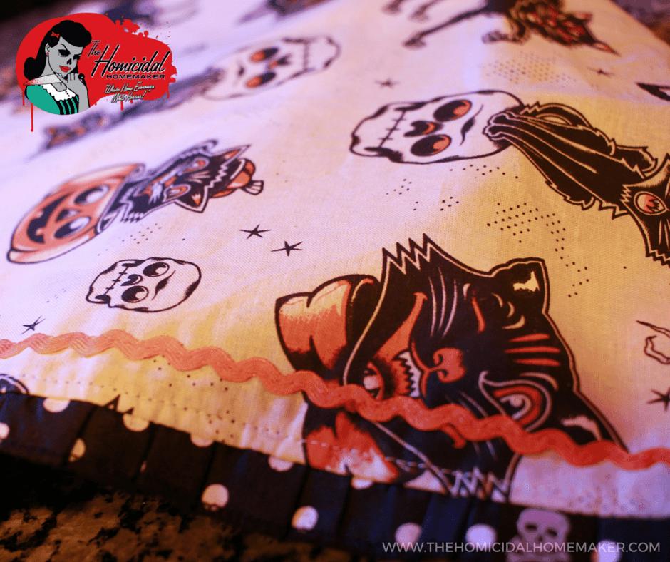 Sourpuss Clothing Black Cat Tea Towel