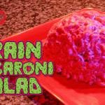 Brain Macaroni Salad | The Homicidal Homemaker | Horror Cooking Show, Recipes, Tutorials, Reviews, & More!