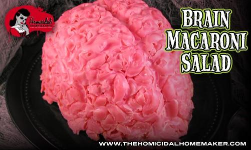 Brain Macaroni Salad Recipe