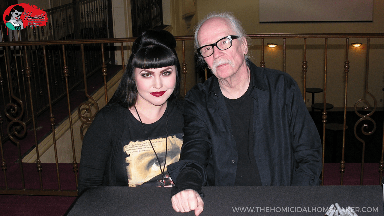 """Kaci with John Carpenter - """"Big Trouble in Little China"""" Dragon Green Eyes Cocktail"""
