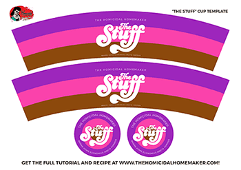 The Stuff Cup Template - The Homicidal Homemaker