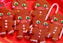 Krampus Gingerbread Cookies Tutorial & Recipe