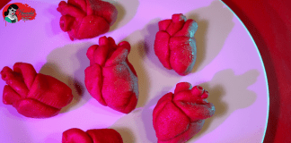 Anatomical Heart Dipped Strawberries