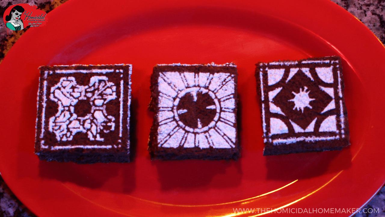 Hellraiser Cinna-bite Brownies