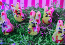 Boozy Zombie Bunny Marshmallows | The Homicidal Homemaker