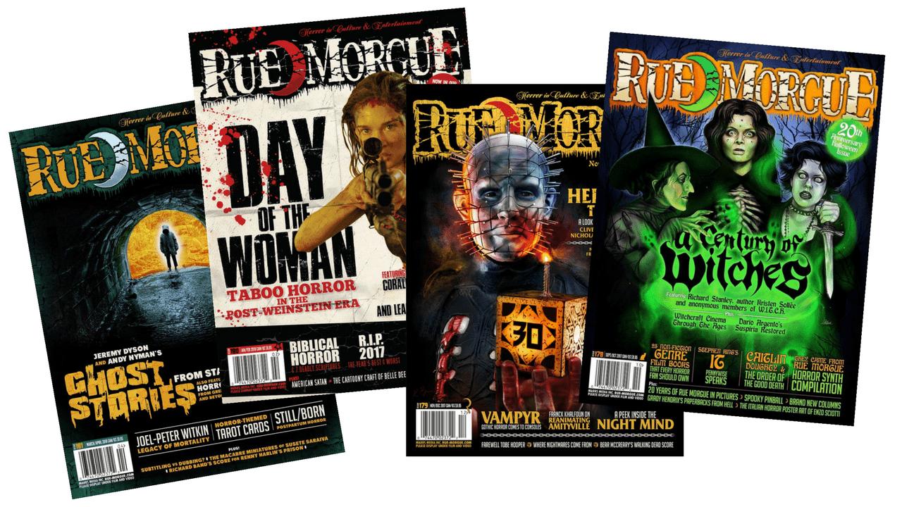 Rue Morgue Magazine