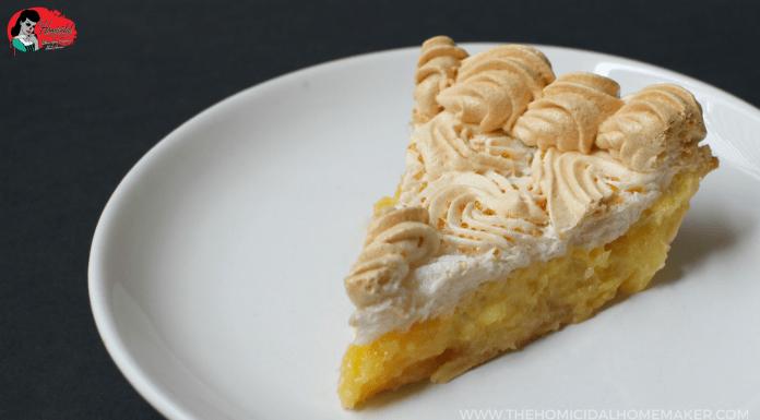 Pineapple Meringue Pie – A Vincent Price Recipe