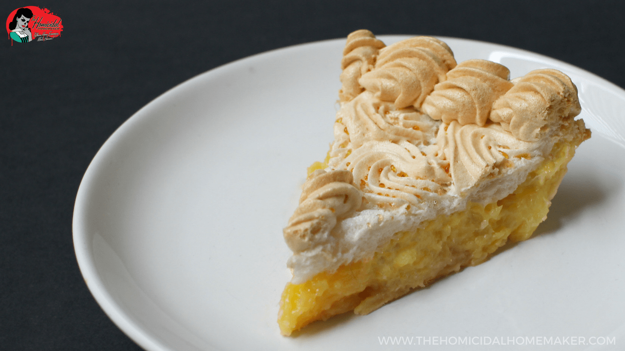 Vincent Price's Pineapple Meringue Pie Recipe
