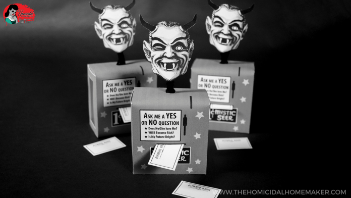 Twilight Zone Mystic Seer Candy Box Printable