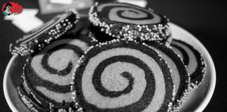 Twilight Zone Spiral of Madness Cookies