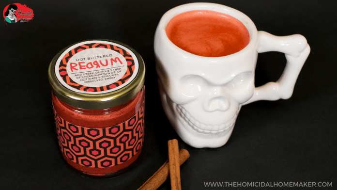 Warm Up With Hot Buttered REDRUM Inspired by