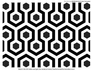 The Shining Overlook Hotel Carpet Template