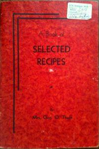 Ashland Times Gazette Cookbook - Bamberry Turnover Recipe