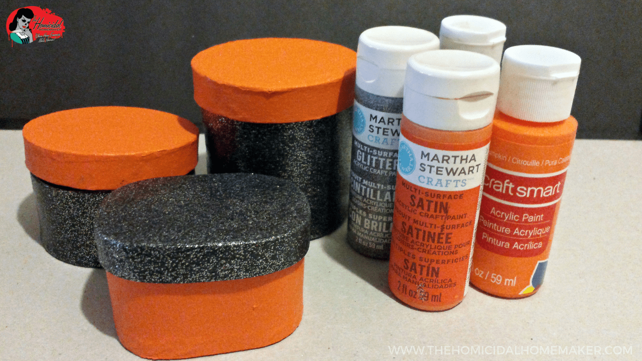 Vintage Halloween Inspired DIY Trinket Boxes
