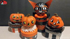 Vintage Halloween Inspired DIY Trinket Boxes